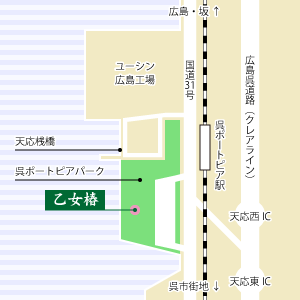 乙女椿地図