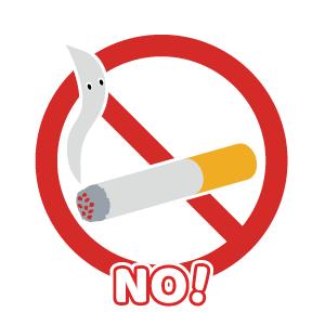 全面禁煙です